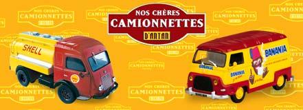 Test Citroën Type H HY Michelin 1970 Camionnettes d/'Autrefois Altaya Ixo 1//24