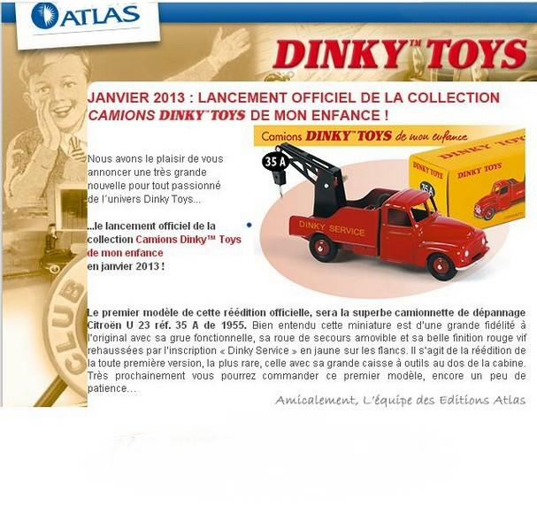 Atlas Collections Camions Dinky