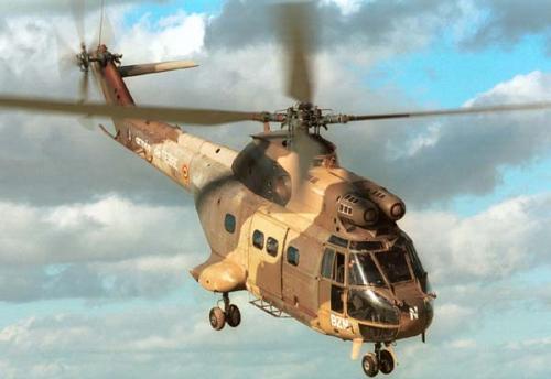 hélicoptère alouette 3 vue