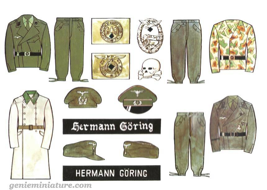 boutons allemands ww2