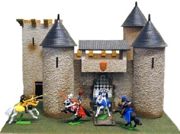Jouet chateau fort - Chateau fort en bois ...