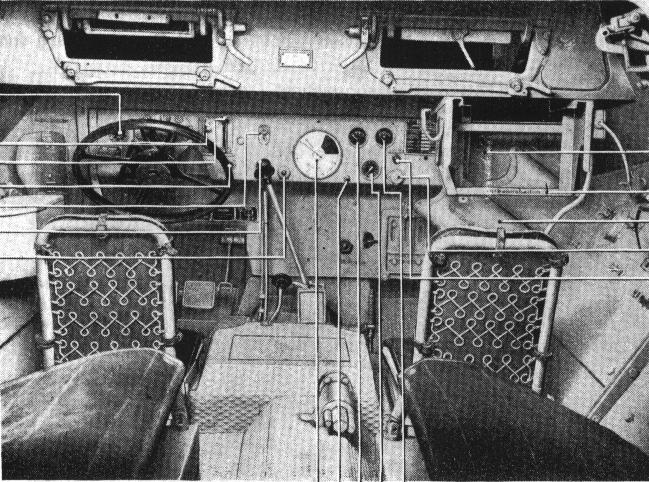 Hanomag sdkfz miniature for L interieur du char de vimoutier